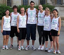 London 10 K runners for CLT